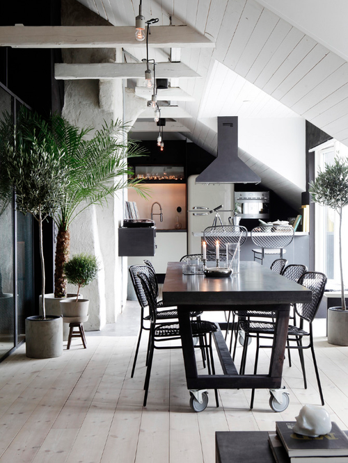 Inspiration k k och sommarfest hem trevligheter for Interior design inspiration industrial